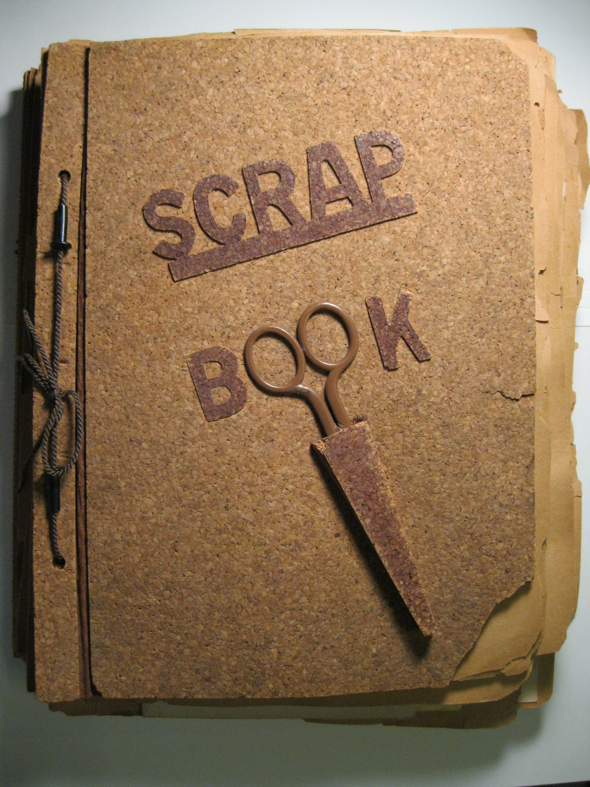 Scrapbook ideas newspaper articles - Senior Scrapbook The Second Best Idea I Ever Stole